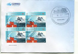 """ANTARTIDA ARGENTINA - BASE JUBANY 1953-2003"". ARGENTINA AÑO 2003, SOBRE PRIMER DIA DE EMISION, FDC ENVELOPE. - LILHU - Filatelia Polar"