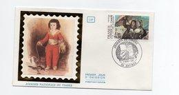 """F. D. C. FRANCE - Journée Du Timbre 1981  Goya """" La Lettre D' Amour """" 10 Troyes   Y.T. 2124 - 1980-1989"""