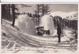 [06] Alpes Maritimes >  Beuil Les Launes Chasse Neige A Turbine - Francia
