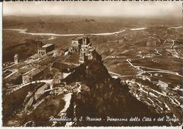REPUBBLICA DI S.MARINO PANORAMA DELLA CITTA' E DEL BORGO -FG - San Marino