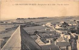 LES MOUTIERS EN RETZ - Perspective De La Côte - Vue Du Clocher - Les Moutiers-en-Retz