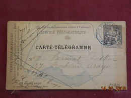 Carte Télégramme De Type Chaplain - Standard Postcards & Stamped On Demand (before 1995)