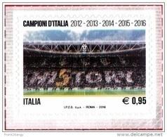 2016 - Juventus Campione D'Italia - Juventus Stadium - HI5TORY  Serie Cpl. 1v.  Nuovo** - 6. 1946-.. Republik