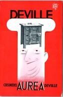 PUBLICITE -- Deville - Cuisinières Aurea Deville - Georges Fremiot Quincaillerie PONTARLIER - Advertising