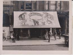 COLOUR ADVERT CHARLES WAYRE OXFORT STREET ADVERTISING PUBLICIDAD PUBLI WERBUNG 17 *12 CM Fonds Victor FORBIN 1864-1947 - Professions