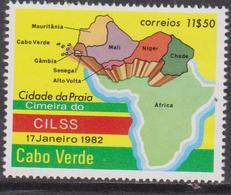 Capo Verde 1982 Map Set MNH - Cape Verde
