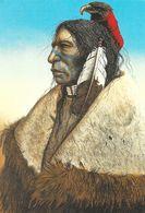 Indien - Eagle Medicine - Illustration De Mark Rohrig - Galerie Inipi - Carte Non Circulée N° 802 - Native Americans