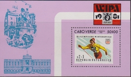 Capo Verde 1981 WIPA Stamp On Stamp  Set MNH - Cape Verde