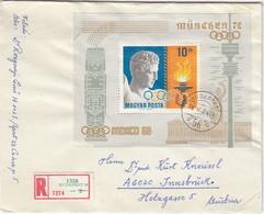 1972 MÜNCHEN - Ungarn  MiNr: 2485 Block 69A - Sommer 1972: München