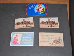 5 Pochettes D'aiguilles Differentes Marques - Manquent Qqes Aiguilles - Voir Scan - Vintage Clothes & Linen