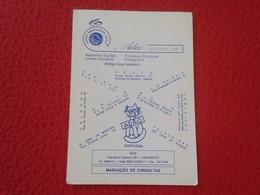 CALENDARIO DE BOLSILLO MANO PORTUGAL PORTUGUESE CALENDAR 1993 ADAO OCULISTA CENTRO ABESTECEDOR OPTICA OPTIC ÓPTICO...VER - Calendarios