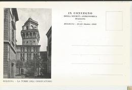 BOLOGNA IX CONVEGNO DELLA SOCIETA' ASTRONOMICA ITALIANA 1965 -FG - Bologna