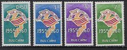 """Viet-Sud YT 146 à 149 """" Anniversaire République """" 1960 Neuf** MNH - Viêt-Nam"""