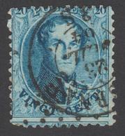 COB 15 Avec Voisin -  Dent. 12 ½ -  Obl. Double Cercle - 1863-1864 Medaillen (13/16)