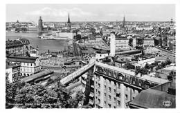 Cartolina Stockholm Utsikt Fran Mosebacke - Cartoline