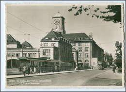 Y12235/ St. Gallen Bahnhof Der Straßenbahn  Foto AK 1939 Schweiz - Schweiz
