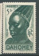 Dahomey    -  Yvert N°   139 * * Adhérences   Bce 19531 - Dahomey (1899-1944)