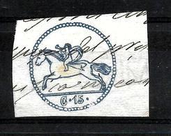 516 - ITALIA - SARDEGNA - PREFILATELICI - 1848 - CAVALLINO - OLD FORGERY - FAUX - FAKE - FALSOS - Timbres