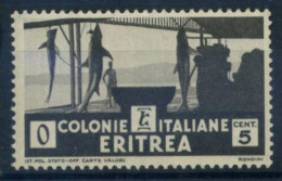 L'Érythrée 1933 Sass. 204 Neuf ** 100% 5C, Sujets Africains - Erythrée