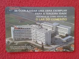 CALENDARIO DE BOLSILLO MANO PORTUGAL PORTUGUESE CALENDAR 1988 O LAR DO COMÉRCIO SEMENTES DE QUALIDADE ALIPIO DIAS PORTO - Calendarios