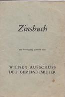 Zinsbuch Ab 1961  Wien - Gesetze & Erlasse