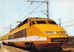 TGV Postal Thème La Poste édition Club Mâcon - Trains