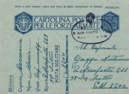 FRANCHIGIA POSTA MILITARE 3200 CONC BOLOGNA 1943 AEROPORTO 228 PADOVA X PM 3200 - Militärpost (MP)