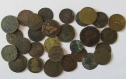 Vrac De Jetons De Nuremberg Principalement + Qqles Monnaies Anciennes - Epoques 17 à 19e Siècle - A étudier - Monnaies & Billets