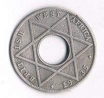 1/10  PENNY  1935 BRITISH WEST AFRICA /4022/ - Münzen