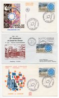 FDC France 1974 - 25ème Anniversaire Du Conseil De L'Europe - YT 1792 - 67 Strasbourg - FDC