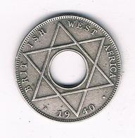 1/10  PENNY  1940 BRITISH WEST AFRICA /4024/ - Münzen