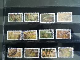 Série Adhésifs Complete 2017 Cachets Ronds - Adhesive Stamps
