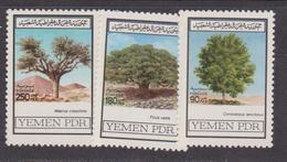 Yemen 1982 - Tree Set MNH - Yemen