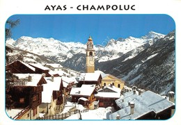 Cartolina Ayas Champoluc Panorama Parziale 1996 - Non Classificati