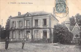 28 - FRAZE : La Mairie Et L'Eglise - CPA - Eure Et Loire - Autres Communes