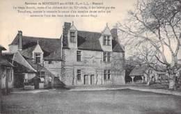 28 - Env. De MONTIGNY SUR AVRE : MONTUEL Le Vieux Manoir, Reste D'un Chateau Fort Qui Fut Habité Par Les Templiers - CPA - Montigny-sur-Avre