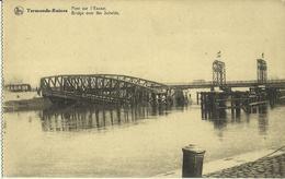 Termonde - Ruines -- Pont Sur L' Escaut. (2 Scans) - Dendermonde