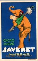PUBLICITE -- Cacao Sucré SAVERET - Publicité