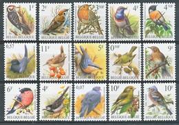 TIMBRE - BELGIQUE - 1986 - LOT BIRDS - Neuf - Belgique