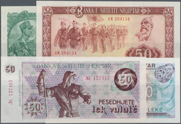 Albania / Albanien: Huge Lot With 25 Banknotes Series 1 - 1000 Leke 1957-ND(1992), P.28a-50a, All In - Albania