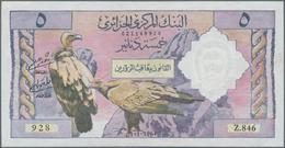 Algeria / Algerien: Banque Centrale D'Algérie 5 Dinars 1964, P.122, Without Pinholes, Just Some Fold - Algeria