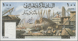 Algeria / Algerien: Set Of 2 Notes Banque Centrale D'Algerie Containing 10 & 100 Dinars 1964 P. 123, - Algeria