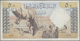Algeria / Algerien: Set Of 2 Notes 50 Dinars 1964 P. 124, Both In Lightly Used Condition, Not Washed - Algeria