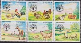Yemen  - FAO Animals Set MNH - Yemen