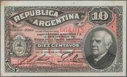 Argentina / Argentinien: Very Interesting Lot With 4 Banknotes Of The Early Issues And Local Banks O - Argentina