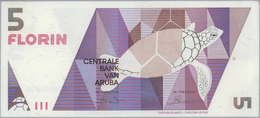 Aruba: Official Collectors Book Issued By The Central Bank Of Aruba Commemorating The First Banknote - Aruba (1986-...)