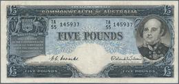 Australia / Australien: Commonwealth Of Australia 5 Pounds ND(1954-59), P.31, Still Nice With Bright - Australia
