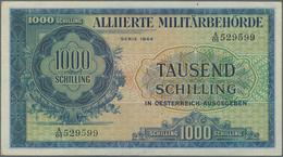 Austria / Österreich: 1000 Schilling 1944 Allied Occupation WW II, P.111, Almost Perfect Condition W - Austria