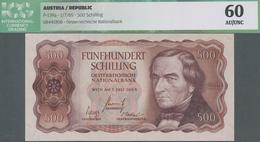 Austria / Österreich: 500 Schilling 1965, P.139a, Almost Perfect Condition With Just A Few Minor Cre - Austria