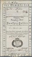 Austria / Österreich: Austria - Steyermark 50 Gulden 1767 Domestical Obligation, P.NL (Richter W17.2 - Austria